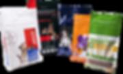 Sachet d'emballage plastique alimentaire et petfood