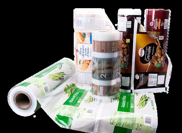 Film automatique emballage plastique