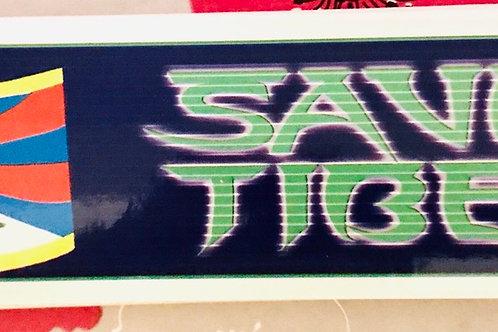 Autocollant Save Tibet