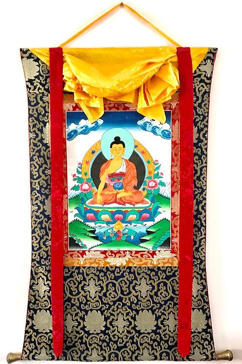 Tangka de Bouddha 110 x 80 cm