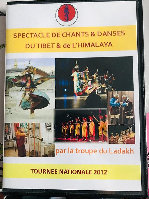DVD spectacles de chants et danses de l'himalaya