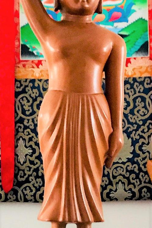 Statue en bois de santal