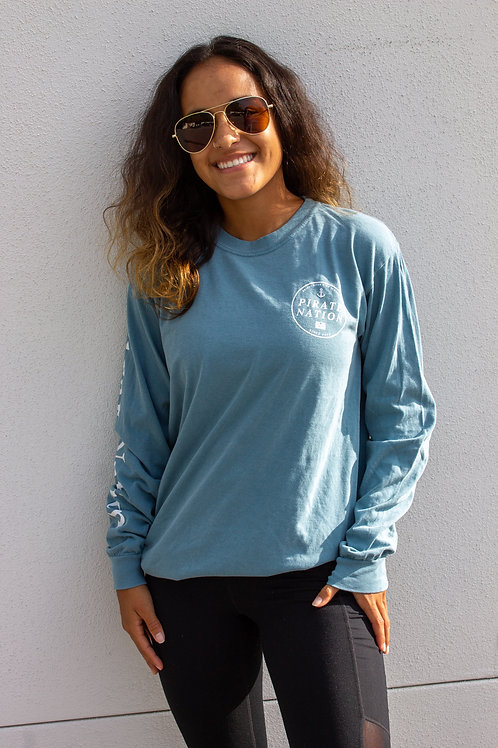 Pirate Nation Ice Blue Long Sleeve