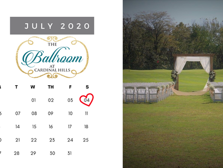 Wedding dates to (Potentially) avoid in 2020 & 2021