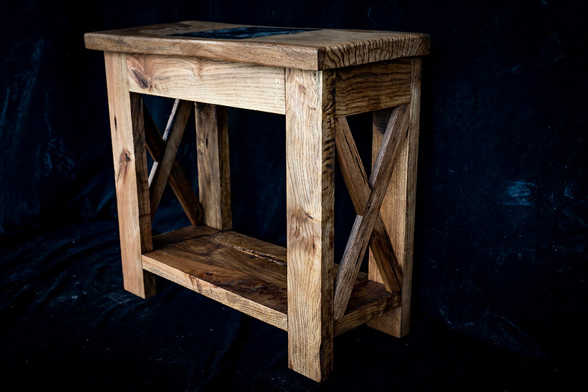 Red Oak Entry Table