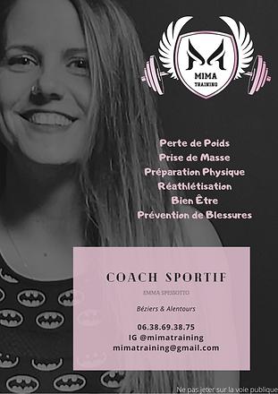 Coach sportif Béziers