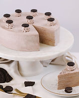 Oreo cookie crepe cake