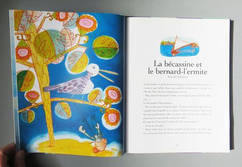 """""""La bécassine et le bernard-l'ermite"""" 1"""