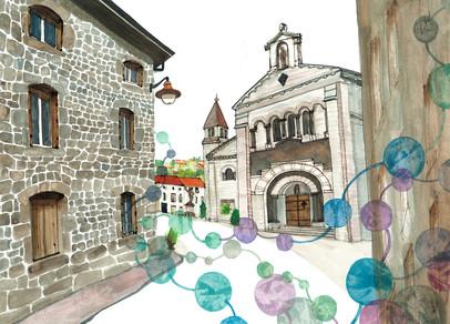 Village de Saint-Sauveur-en-rue