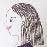 Femme de profil 4
