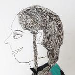 Femme de profil 2