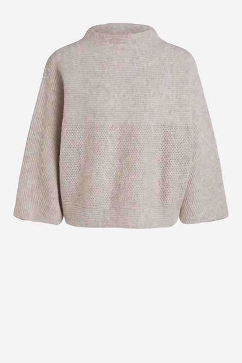 Oui Pullover Alpaka Wolle