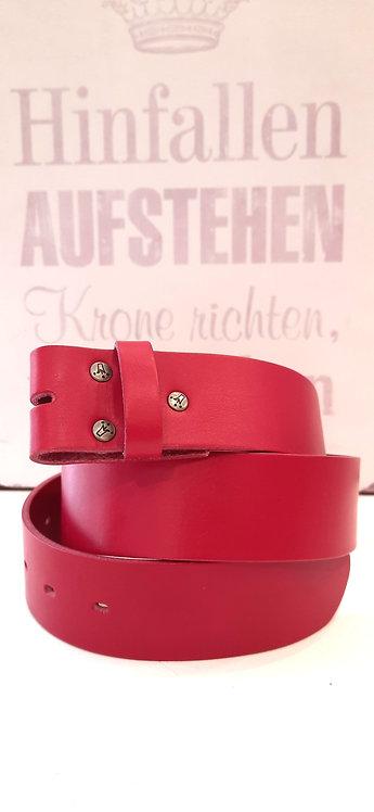 Umjubelt Gürtel Pink - ohne Schnalle