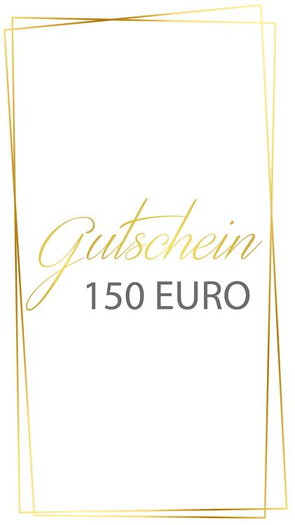 150 Euro Gutschein - selber ausdrucken