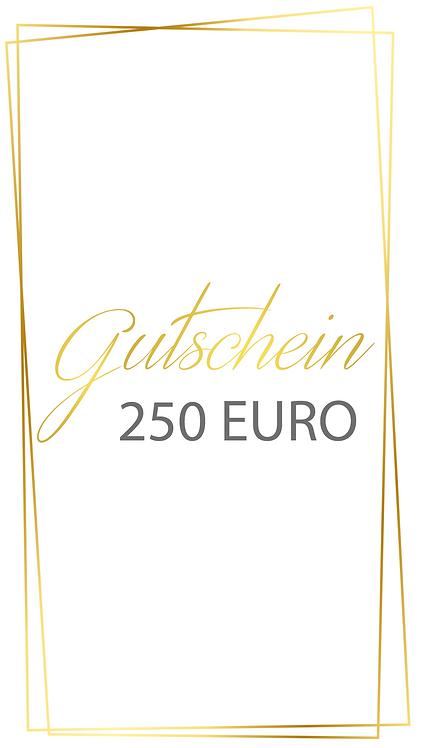 250 Euro Gutschein - selber ausdrucken