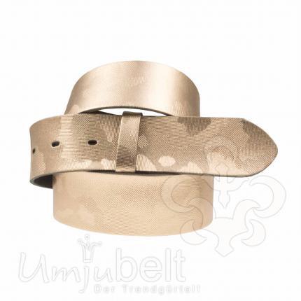 Umjubelt Gürtel Metallic - ohne Schnalle
