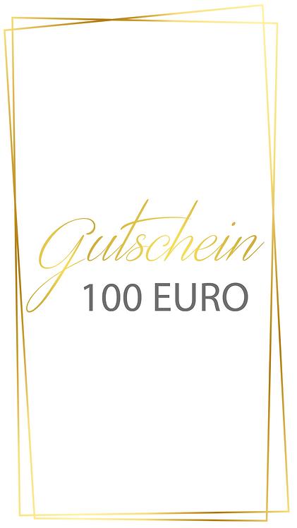 100 Euro Gutschein - selber ausdrucken