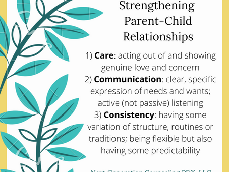 3 Cs for Strengthening Parent-Child Relationships