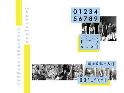 Futura alphabet