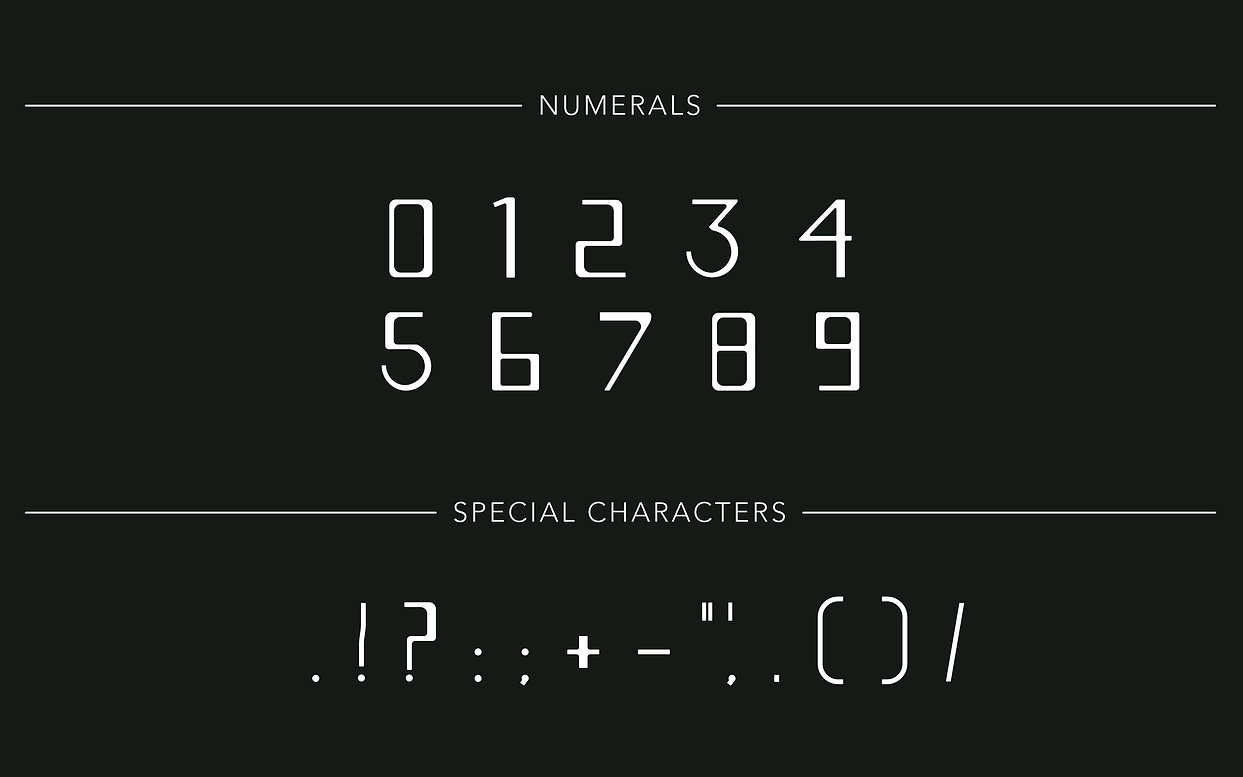 Slide 6 - Numerals and Special Character
