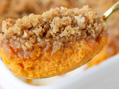 Blessings4Ever Holiday Recipe: Jen Levy's Sweet Potato Soufflé