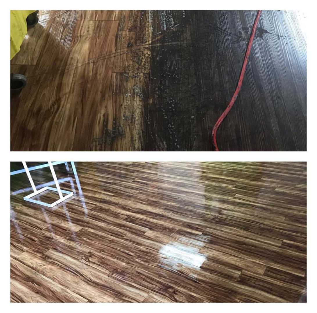 floor stripping and polishing