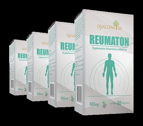 reumaton quallynatus kit reumatismo dor dores reumáticas coração magnésio quelato fibromialgia catarata células osteoporose