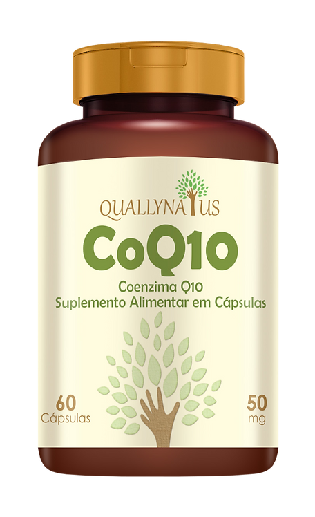 coq10 coenzima q10 ubiquinona suplemento quallynatus natural saúde coração atp ritmo cardíaco metabolismo músculos