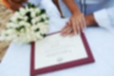 Santorini Symbolic Wedding Package