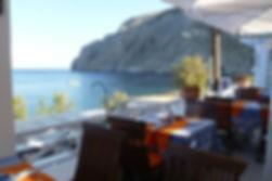 Atmosphere Restaurant Kamari Santorini Greece