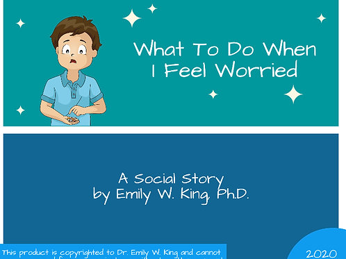 What To Do When I Feel Worried