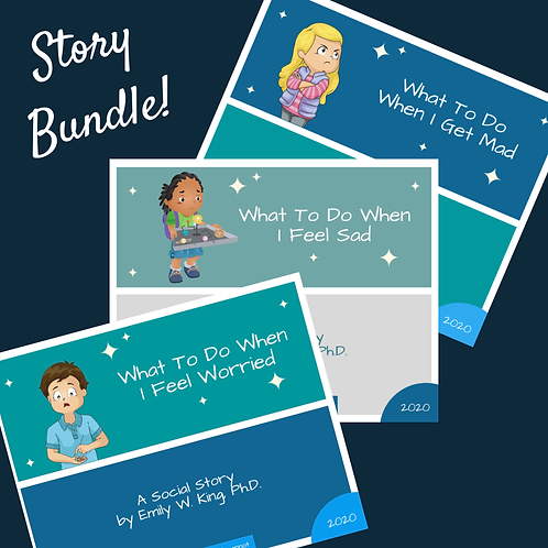 What To Do When I Feel - BUNDLE (3)