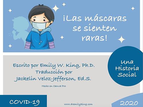 *FREE* Masks Feel Funny! (SPANISH)