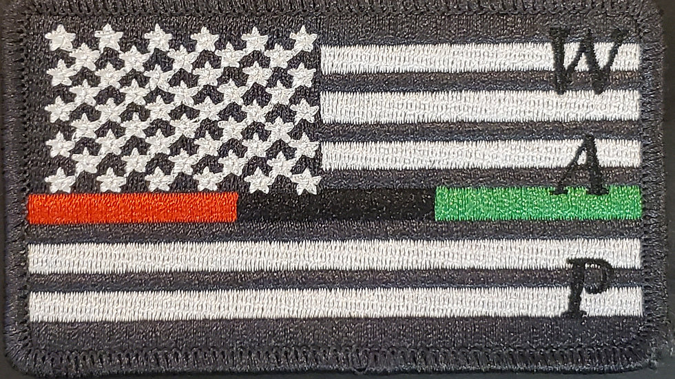 Well-Armed Progressive Pan African Patch