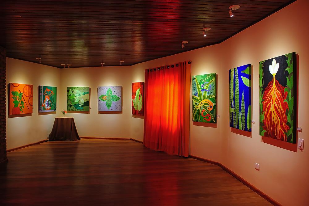 Exposição Ervas e seus Orixás