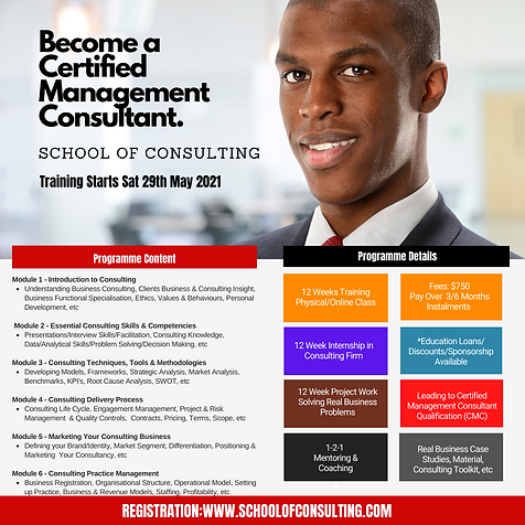 Certified Management Consultant Training