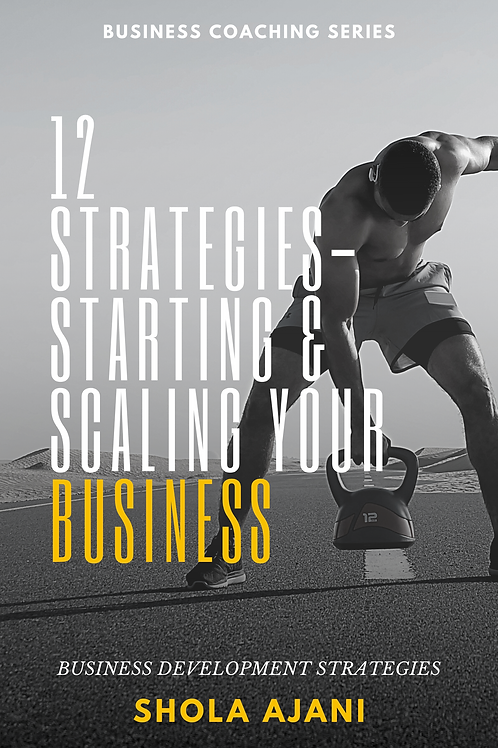 12 Strategies - Starting & Scaling Your Business