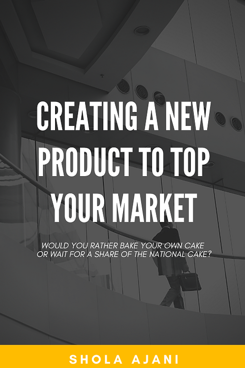 Creating A New Product to Top Your Market