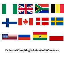 Delivered Consulting Solutions in 13 Cou