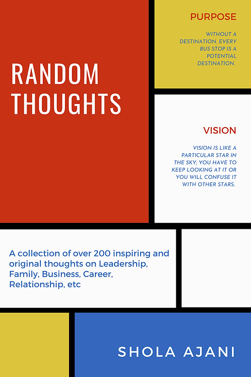 Random Thoughts - Collection of over 200 Inspiring and Original Thoughts