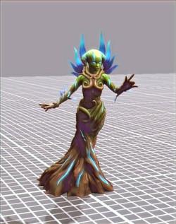 Wildling Sorceress Voice