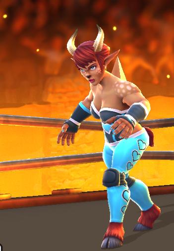 Fawn Wrestler