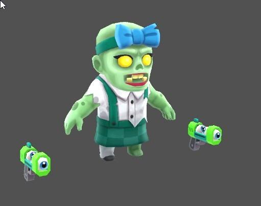 Susan Zombie Voice