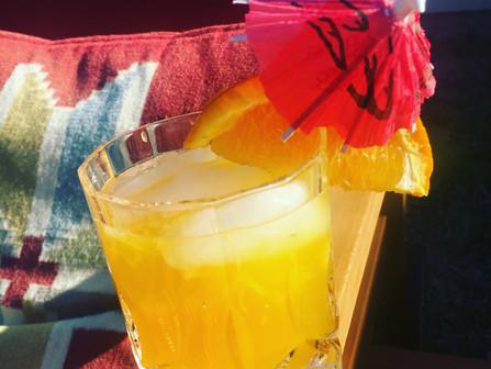 Saffron Citrus Cooler !
