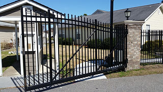 Wilmington, NC-Fence Installation Truck