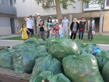 Neighborhood Cleaning Campaign