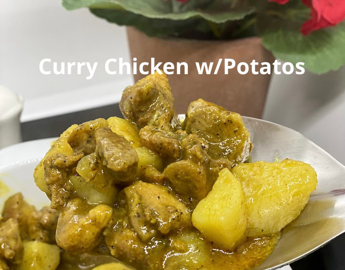 Curry Chicken w/Potatoes