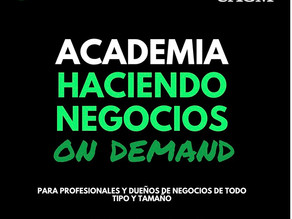 Academia de Negocios On Demand 2021