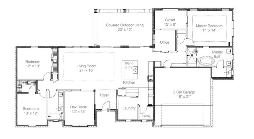 Augustine Floor Plan