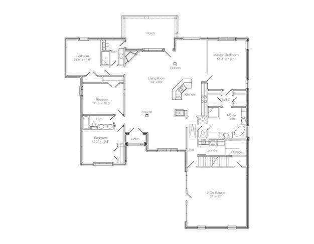 Valentina Floor Plan